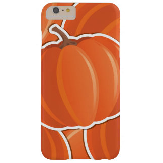 Funky pumpkin barely there iPhone 6 plus case