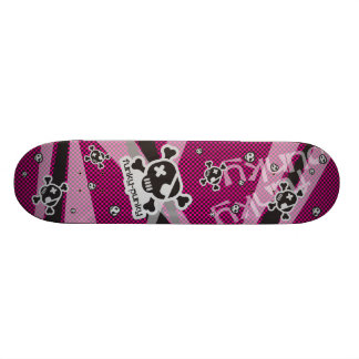 Funky-Punky Black Skateboard