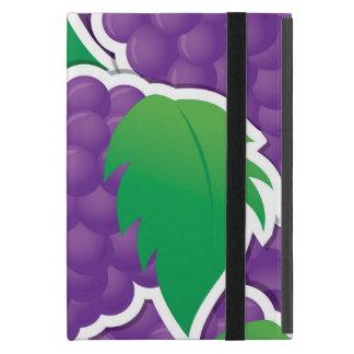 Funky purple grapes iPad mini case