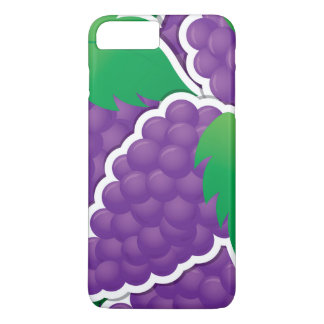Funky purple grapes iPhone 8 plus/7 plus case