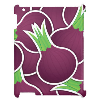 Funky purple onions case for the iPad