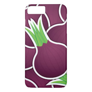 Funky purple onions iPhone 8 plus/7 plus case
