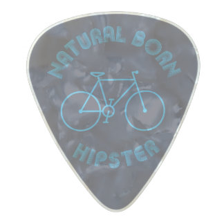 funky quotes natural born hipster guitar pick