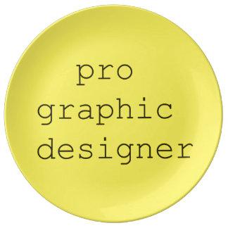 funky quotes pro graphic decorativeporcelain plate porcelain plates