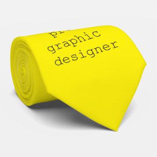 funky quotes pro graphic designer tie