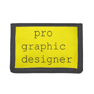 funky quotes pro graphic designer wallet
