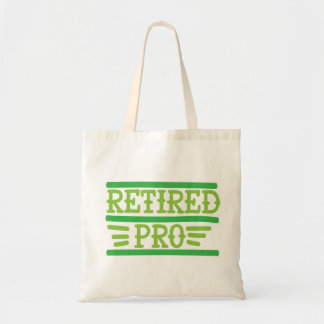 funky quotes retired tote bag