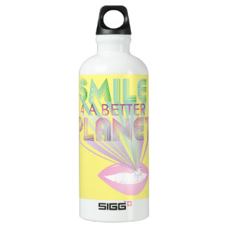 funky quotes smile 4 a planet sigg water bottle