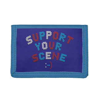 funky quotes support your scene wallet