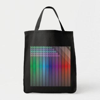 Funky Rainbow Abstract Bag