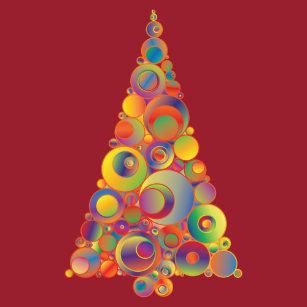 Rainbow Christmas Tree T Shirts Shirt Designs Zazzle Uk