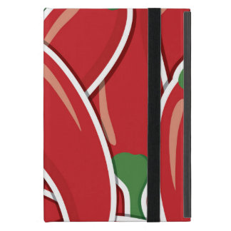 Funky red chilli peppers cover for iPad mini