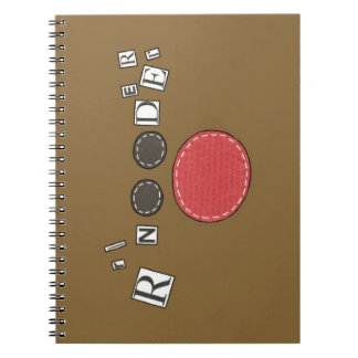 Funky Reindeer Notepad Notebooks