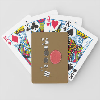 Funky Reindeer Playing Cards