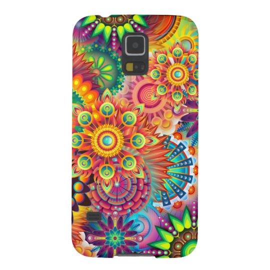 Funky Retro Pattern Abstract Bohemian Galaxy S5 Case