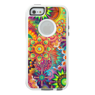 Funky Retro Pattern Abstract Bohemian OtterBox iPhone 5/5s/SE Case
