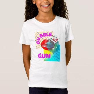 Funky Retro Pop Art Bubble Gum Lips T-Shirt