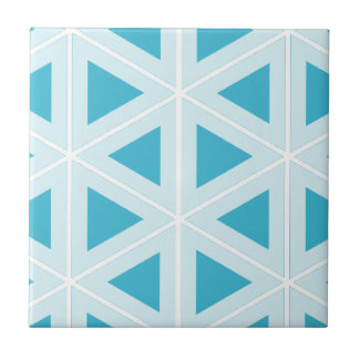 funky retro triangles tile