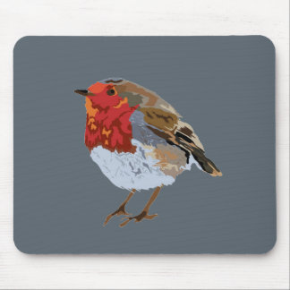 Funky Robin Mouse Mat