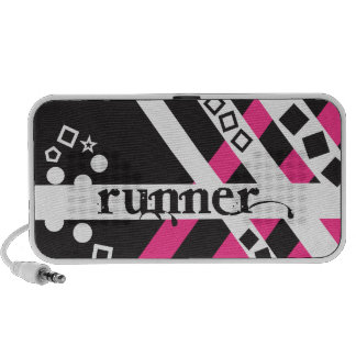 Funky Runner iPhone Speakers