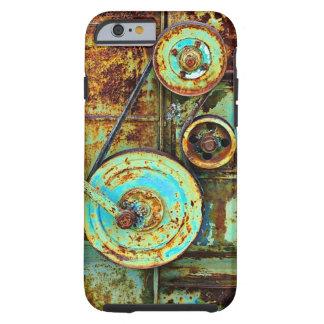 Funky Rusty Grunge Metal Steampunk Steam Punk Art Tough iPhone 6 Case
