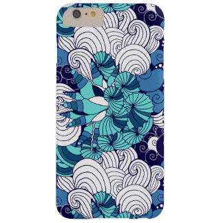 Funky Seashell Pattern Barely There iPhone 6 Plus Case
