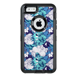 Funky Seashell Pattern OtterBox Defender iPhone Case