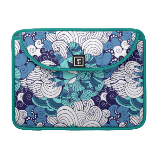 Funky Seashell Pattern Sleeve For MacBook Pro