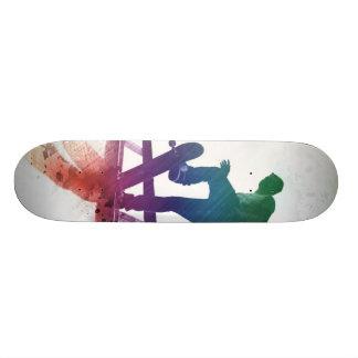 Funky Skateboarder Skate Kid Skateboard Decks