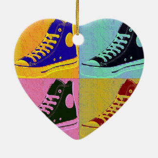 Funky Sneaker Christmas Ornament