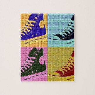 Funky Sneaker Jigsaw Puzzle