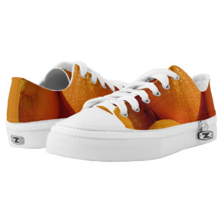 Funky sneakers oranges