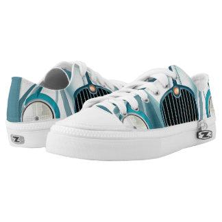 funky sneakers rolls royce blue