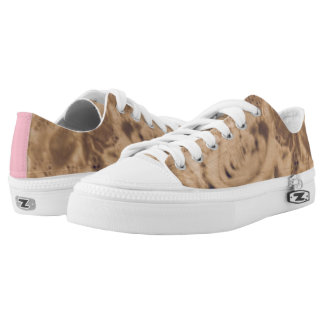 Funky sneakers rose and lace