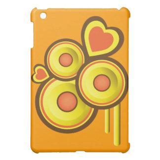 Funky Speakers & Hearts Abstract iPad Mini Case