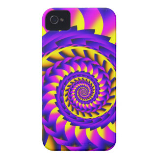 Funky Spiral iPhone 4 case