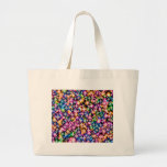 Funky Stars, colorful Tote Bag