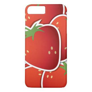 Funky strawberries iPhone 7 plus case
