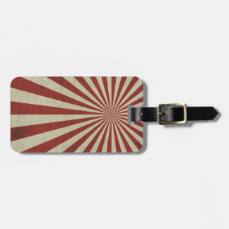 Funky stripes luggage tags