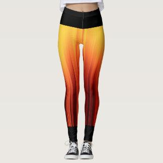 Funky stripy leggings