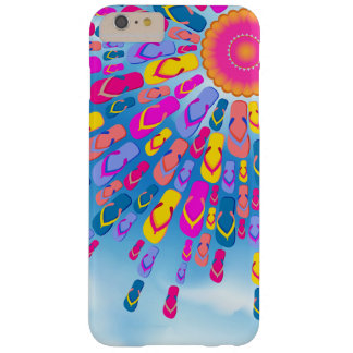 Funky Summer Sun Flip-Flops Rays Barely There iPhone 6 Plus Case