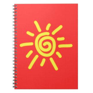 Funky Sun Notebooks