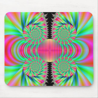 Funky Swirls Mouse Pads