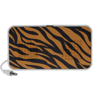 Funky Tiger Stripes Wild Animal Patterns Gifts Portable Speakers
