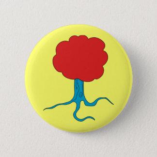 Funky Tree 6 Cm Round Badge