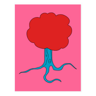 Funky Tree Postcard