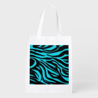 Funky Trendy Retro Abstract Zebra Print