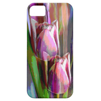 Funky Trendy Tulips iPhone 5 Covers