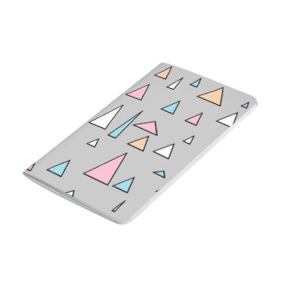Funky Triangles Pastel Colors Notebook Journals