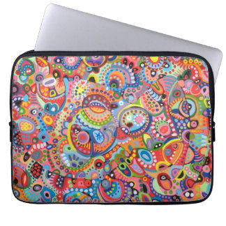 Funky Tribal Abstract Laptop Sleeve Laptop Sleeves